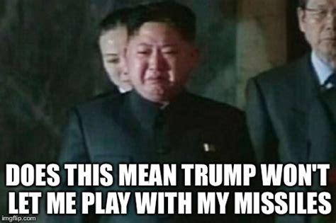Kim And Trump Memes - kim jong un sad memes imgflip