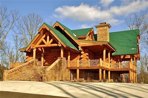 Lodge Rentals Wilderness Lodge Luxury Log Cabin Vrbo