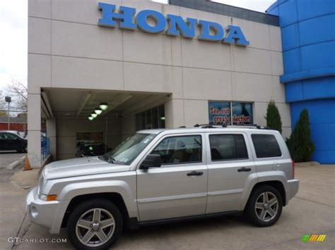 silver jeep patriot 2007 2007 bright silver metallic jeep patriot limited 4x4