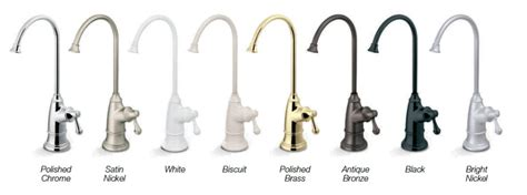 faucet colors ledge faucets pure water products llc