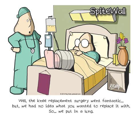 Knee Surgery Meme - knee puns