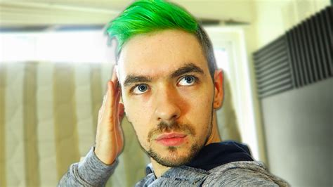 i dyed my hair green youtube