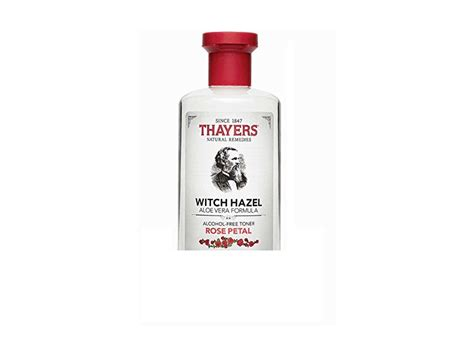 thayers alcohol free rose petal witch hazel with aloe vera 12 fluid ounce thayers free petal witch hazel with aloe vera 3 ounces ingredients and reviews