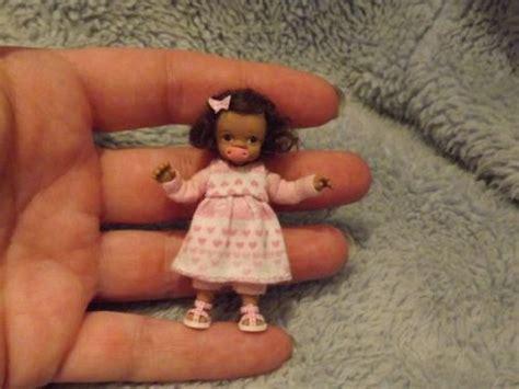 preschool doll house miniature handmade mini baby girl toddler ooak dollhouse