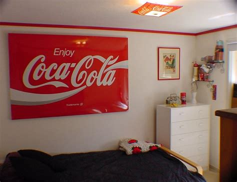 coca cola bedroom fraser s perch coca cola room