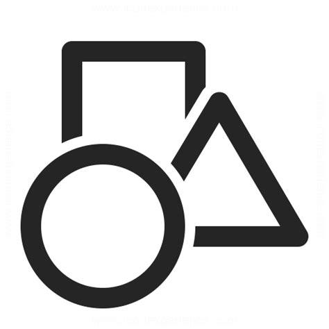 Shapes Icon & IconExperience - Professional Icons » O ...