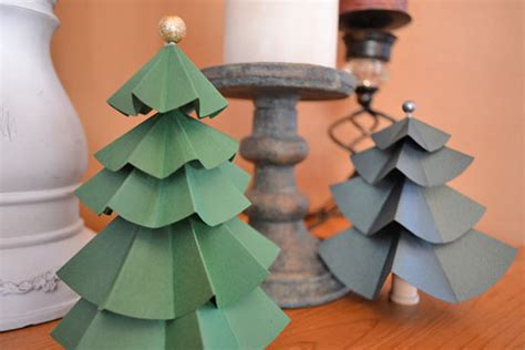 Christmas Party Centerpiece - diy paper tree centerpieces factory direct craft blog