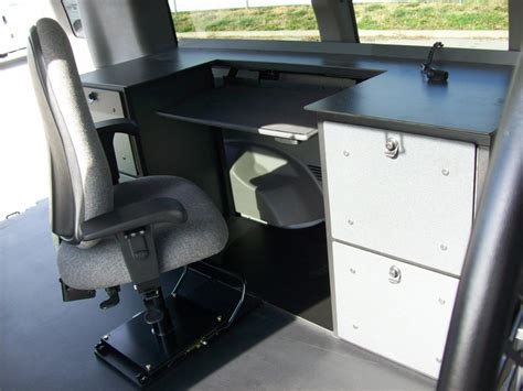 Mobile Office Car Desk Workstations Mobile Office Workstation Systems For Fleet Vehicles
