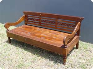 Balinese Day Bed Central Coast Balinese Teak Daybed South Seas Trading