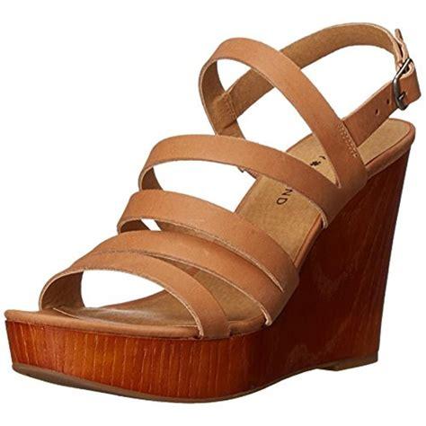 dress wedge sandals lucky brand 4579 womens larinaa leather platform dress