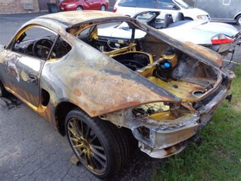 porsche cayman chassis purchase used 2006 porsche cayman s bare chassis