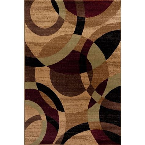 10 Ft Contemporary Rugs - world rug gallery contemporary modern circles abstract