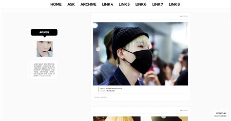 kpop tumblr themes free agustd theme 05 gloss by gukthemes preview code