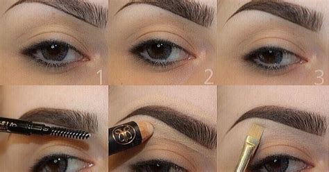 tutorial makeup kening 5 teknik ukir kening sempurna eh