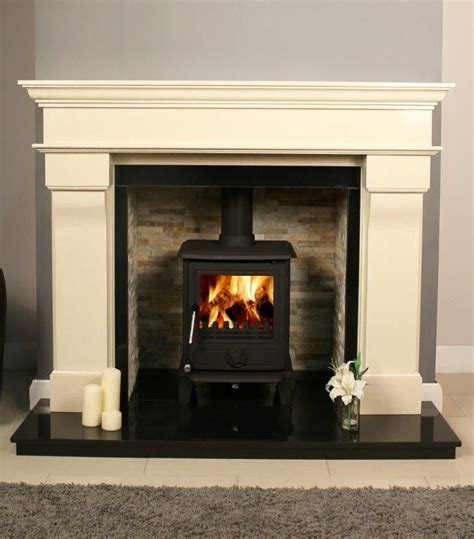 Log Burner Fireplace Surrounds by 1000 Ideas About Wood Burner Fireplace On