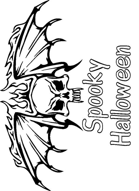 skulls coloring pages for halloween plus skeletons and