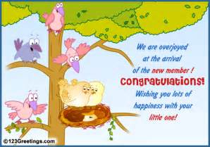 welcome the new arrival free new baby ecards greeting cards 123 greetings