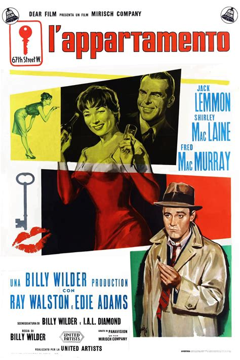 appartment movie the apartment 1960 posters the movie database tmdb