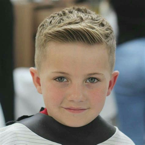 kids hear cut short in the front modern fade for little boys kids hair cut modernfade