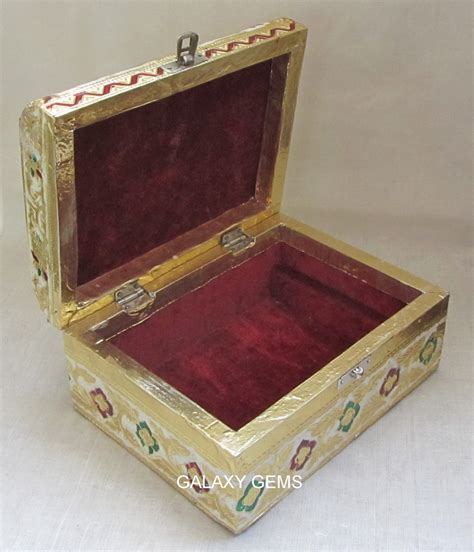Home Decor Gifts India by Jewelry Watches Jewelry Jewelry Boxes Meenakari Jewellery Boxes Handicrafts Of
