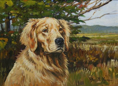 golden retriever paintings www pixshark images galleries with a bite