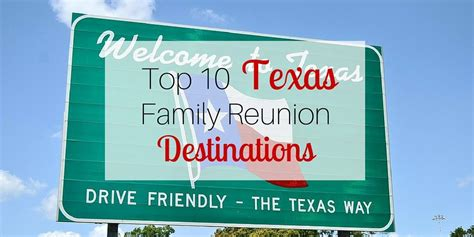 best family reunion locations top 10 family reunion destinations