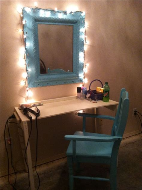 diy makeup vanity decorations and creations 1000 ideas about diy vanity mirror on mirror
