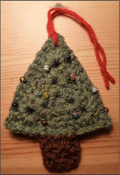 christmas tree pattern back christmas tree christmas decoration crochet pattern by