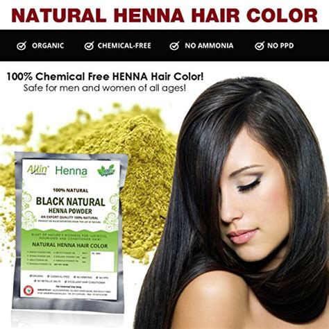 7 Chemical Free Ways To Dye Your Hair by Allin Exporters Black Henna Hair Color 100 Organic And