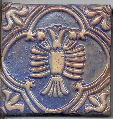 american arts and crafts tile by moravian for sale