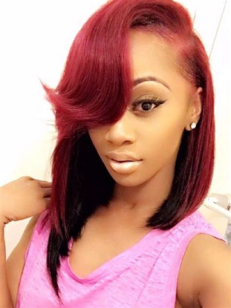 red weave bob 615 best images about bob season on pinterest lace