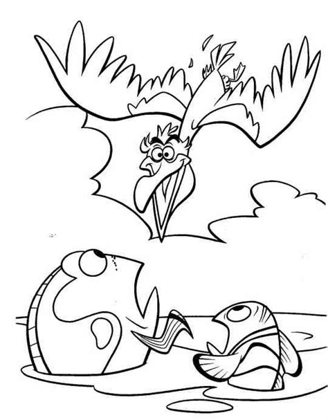 nemo and marlin coloring page nemo coloring pages coloring part 2