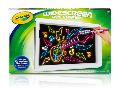 crayola christmas lights crayola widescreen light designer kit