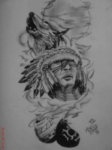 smoke native tat by sugarskull tattoos on deviantart