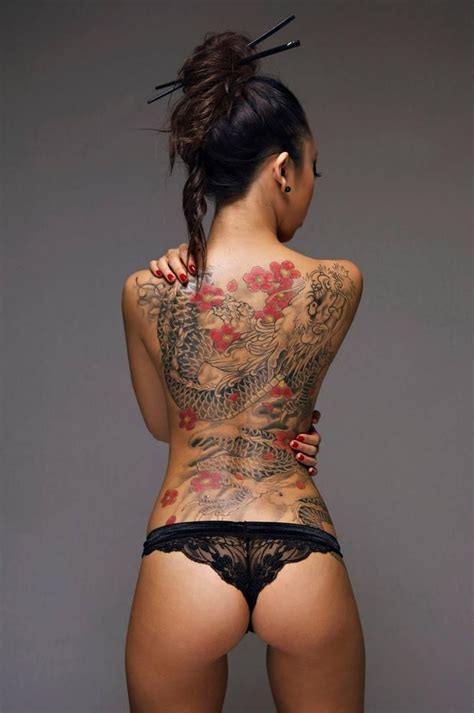 tattoo of japanese woman sexy asian dragon back tattoo venice tattoo art designs