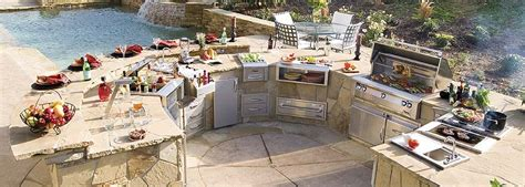 backyard chef outdoor kitchens fit for celebrity chefs