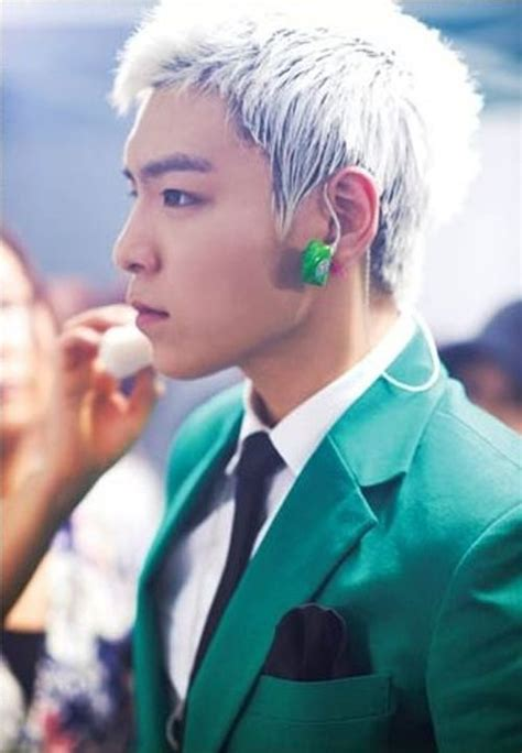oh yeah top hairstyles bigbang 133 best images about white hair t o p bigbang on