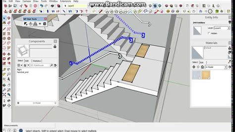 sketchup layout ubuntu staircase drawing tool staircase gallery