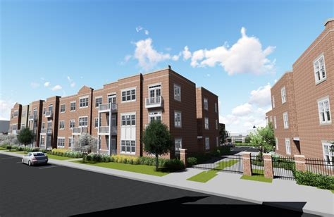 1 Bedroom Apartments In Norfolk by St Paul S Apartment Homes Ts3 Architects Pc