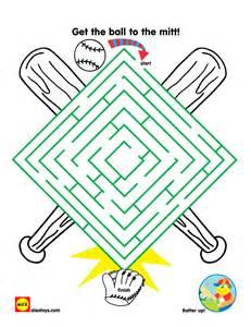 printable baseball activity sheet alexbrands com