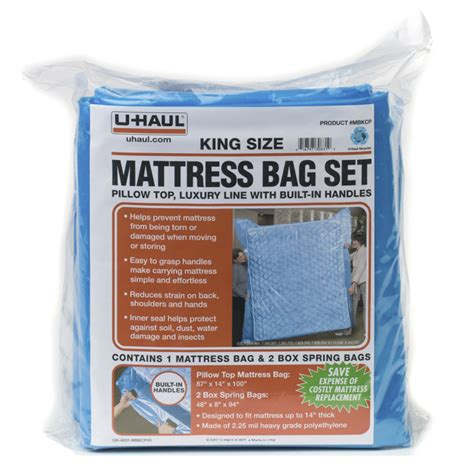 Uhaul Mattress Cover by U Haul Carry Pro Mattress Bags Set