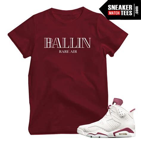 T Shirt 6 maroon 6 t shirt match sneaker match tees official