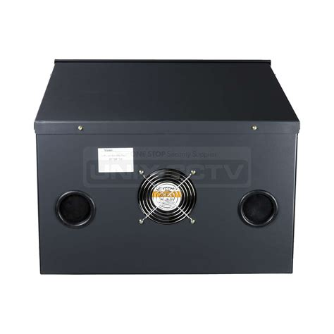 dvr security dvr security cabinet lock box built in exhausting fan