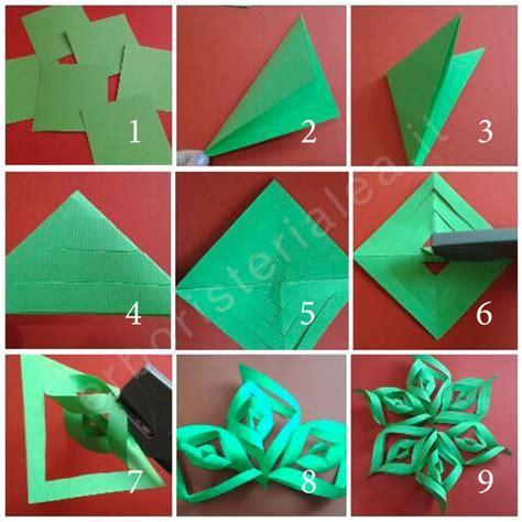 tutorial origami natalizi addobbo natalizio fai da te stella di carta