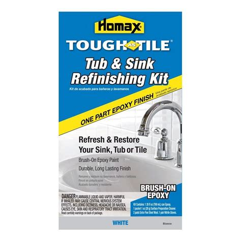 homax 26 oz white tough as tile one part epoxy brush on