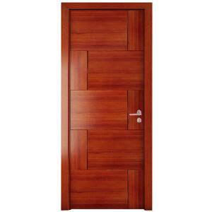 China Brown Wood Swing Right Open Mdf Door China Door Wood Grain Interior Doors