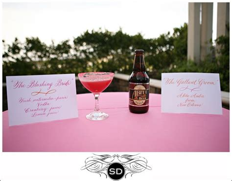 signature drink signs wedding things for jennie pinterest