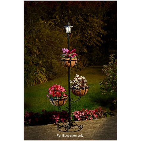 Tiered Flower Planters by B M Gt Solar Powered 3 Tier Flower Planter 276041