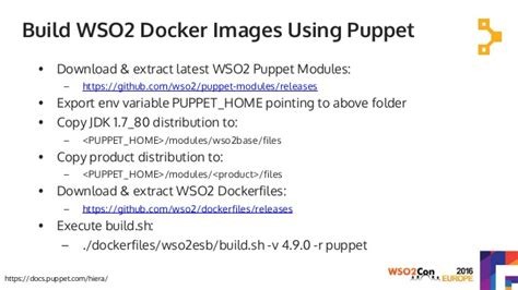 docker puppet tutorial deploying wso2 middleware on containers