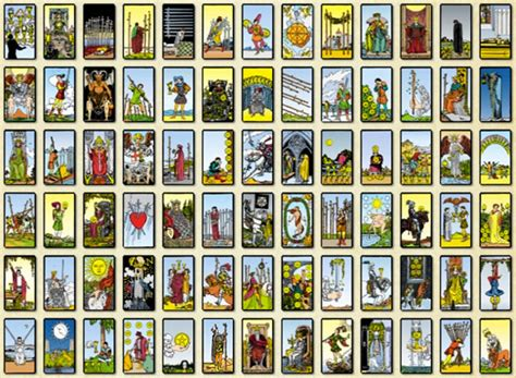 tarot cards moon tarot january 2013